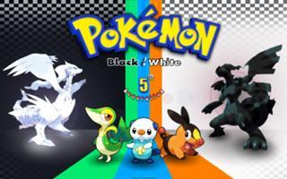 pokémon zwart en wit