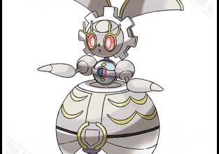 Pokémon Sun & Moon Magearna QR-code