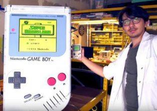 Belgische student bouwt 's werelds grootste Game Boy