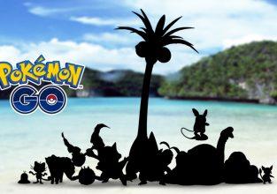Alola forms van Kanto Pokemon in pkm GO