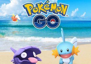 Pokemon go doet het water event opnieuw