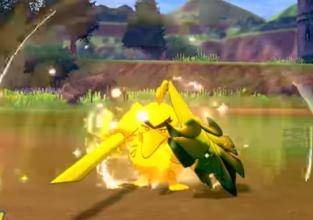 Kleine update Sword & Shield