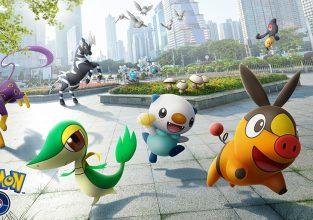 Eerste Pokémon van 5 generatie vanavond in Pokémon Go !!